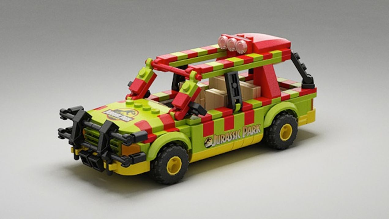 LEGO Ideas Jurassic Park project