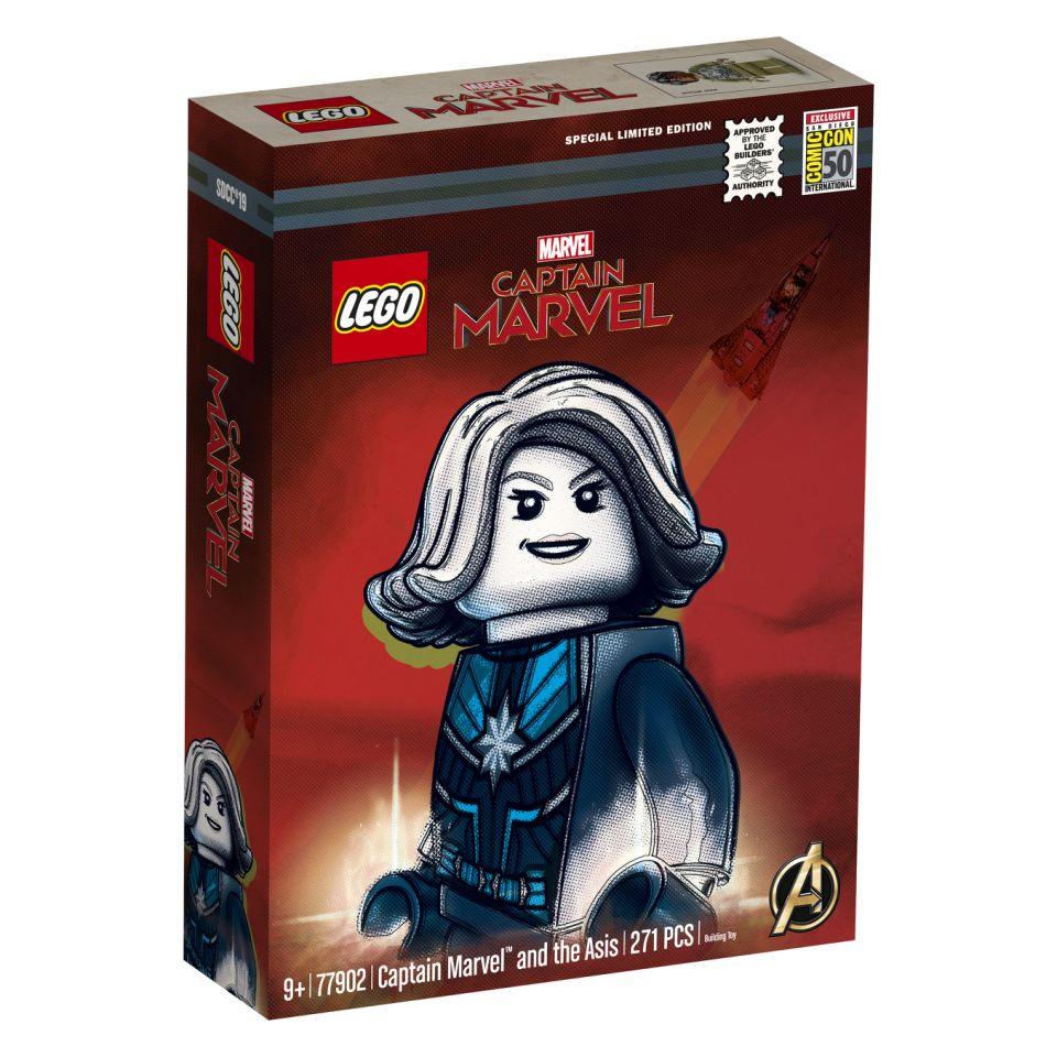 LEGO Marvel Super Heroes Captain Marvel and the Asis (77902) brickfinder 01