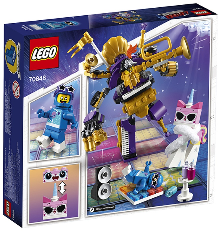 LEGO Movie 2 Systar Party Crew (70848) brickfinder 02