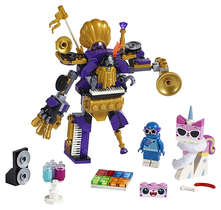LEGO Movie 2 Systar Party Crew (70848) brickfinder 03