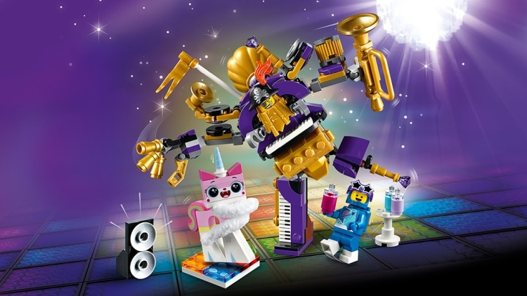 LEGO Movie 2 Systar Party Crew (70848) brickfinder 04