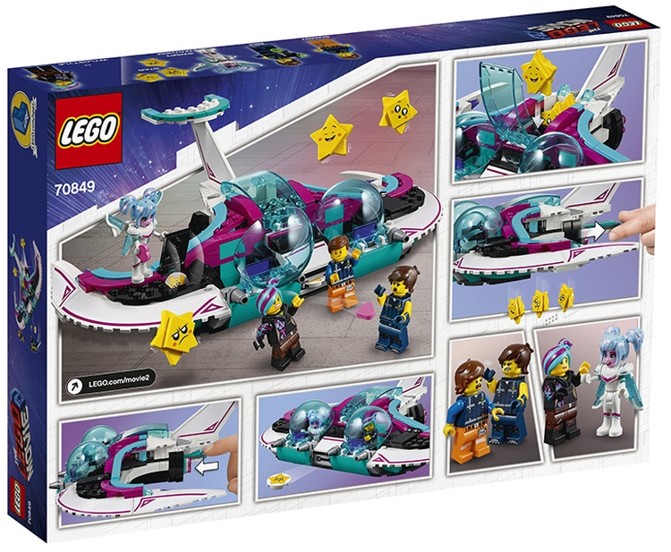 LEGO Movie 2 Wyld-Mayhem Star Fighter (70849) brickfinder 02