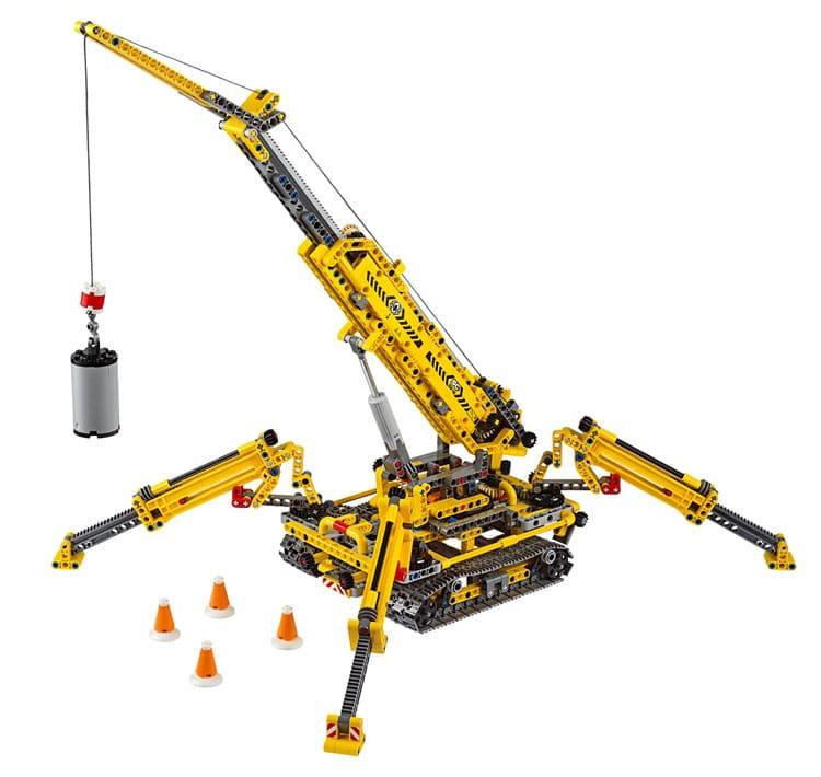LEGO Technic Compact Crawler Crane 42097 brickfinder 03