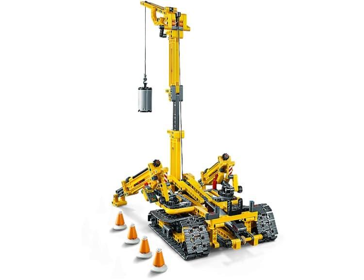 LEGO Technic Compact Crawler Crane 42097 brickfinder 05