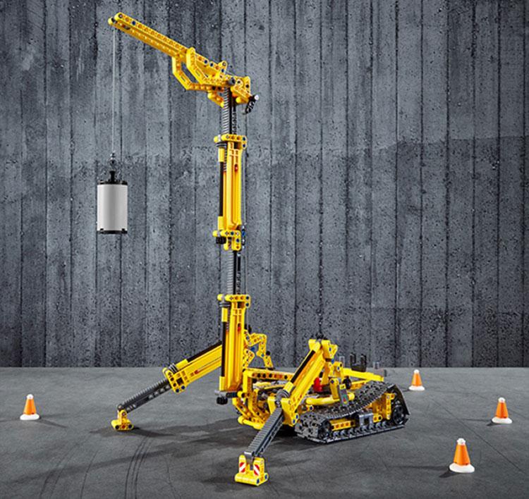 LEGO Technic Compact Crawler Crane 42097 brickfinder 067