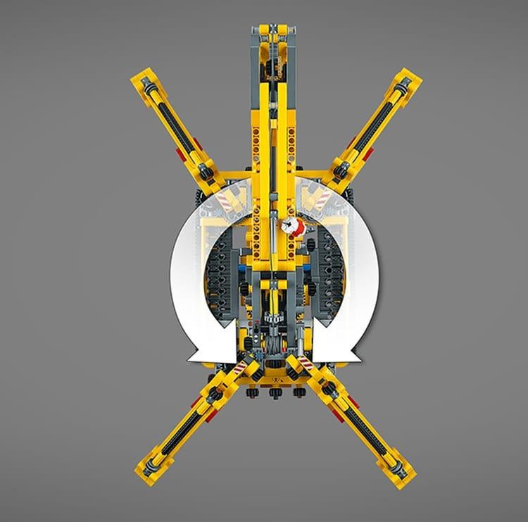 LEGO Technic Compact Crawler Crane 42097 brickfinder 09