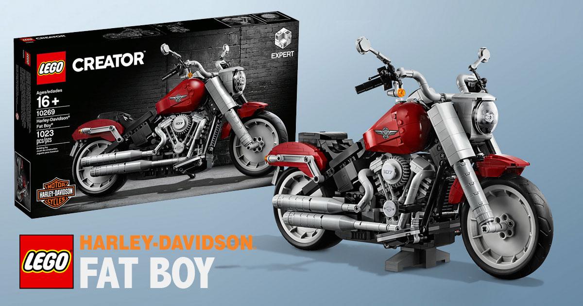 Brickfinder - LEGO Creator Expert Harley-Davidson® Fat Boy