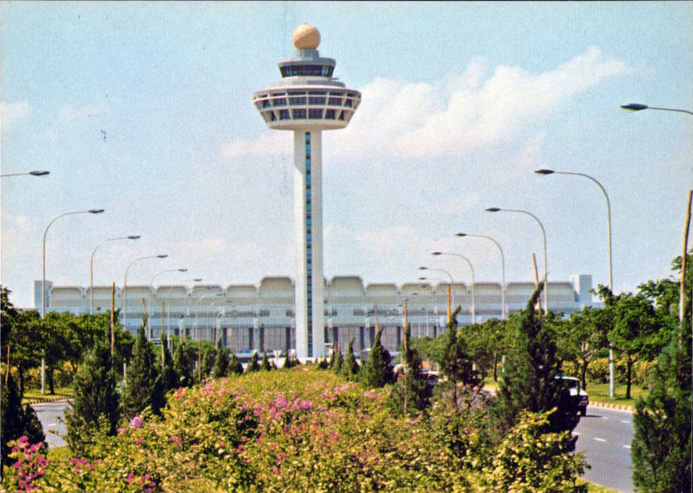 Changi Airport Control Tower circa 1980