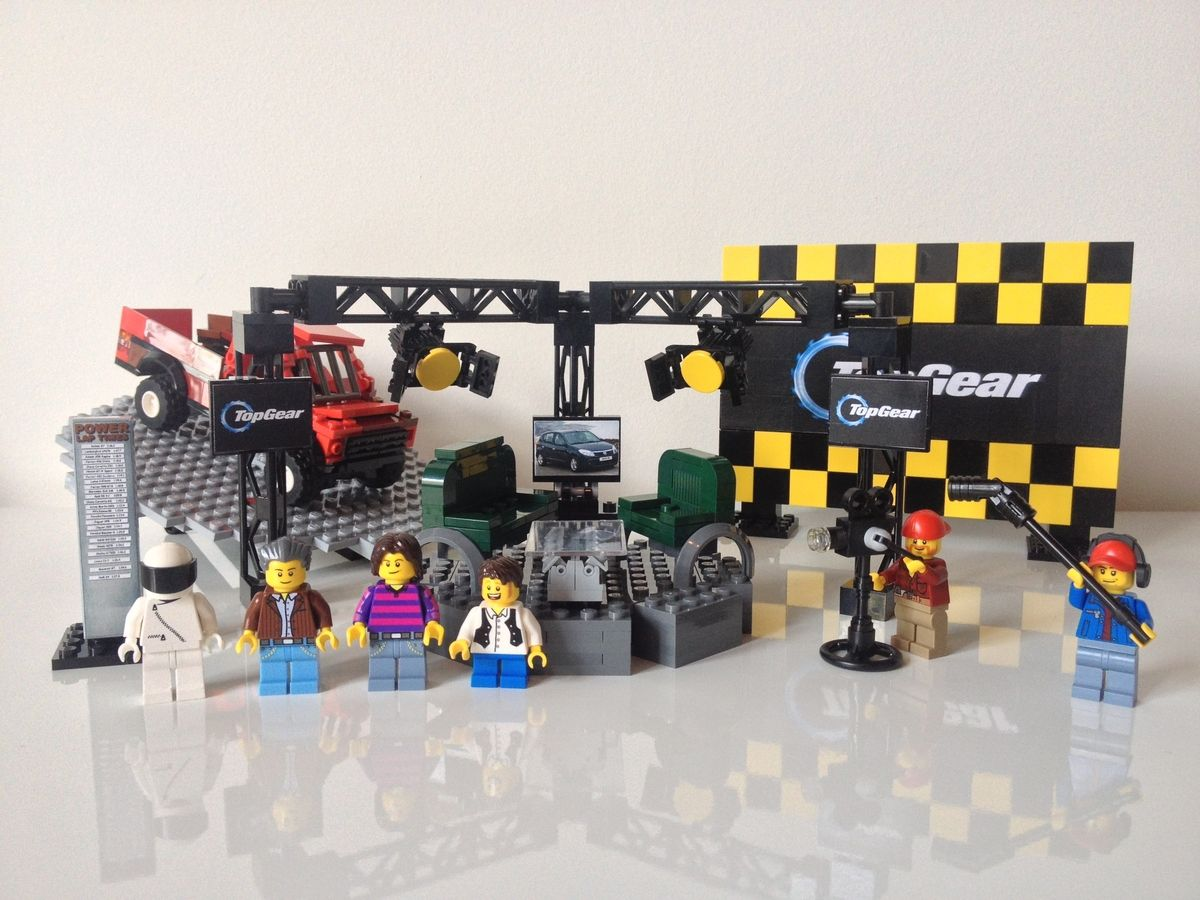 LEGO Top Gear Set by FisheeC3