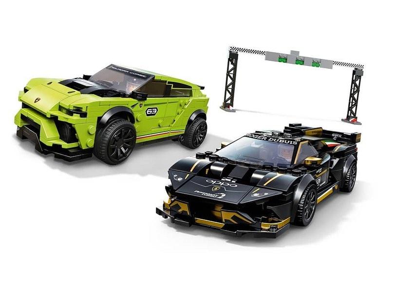 LEGO Speed Champions Lamborghini Huracán Super Trofeo EVO & Urus ST-X (76899) - 03