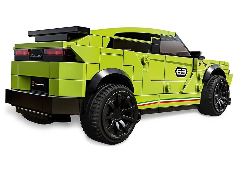 LEGO Speed Champions Lamborghini Huracán Super Trofeo EVO & Urus ST-X (76899) - 04