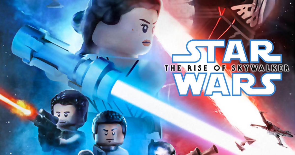 Brickfinder The Lego Star Wars Rise Of Skywalker Poster Has Landed