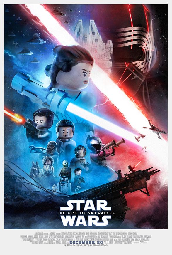 LEGO Rise of Skywalker Poster ©Macrolegouniverse