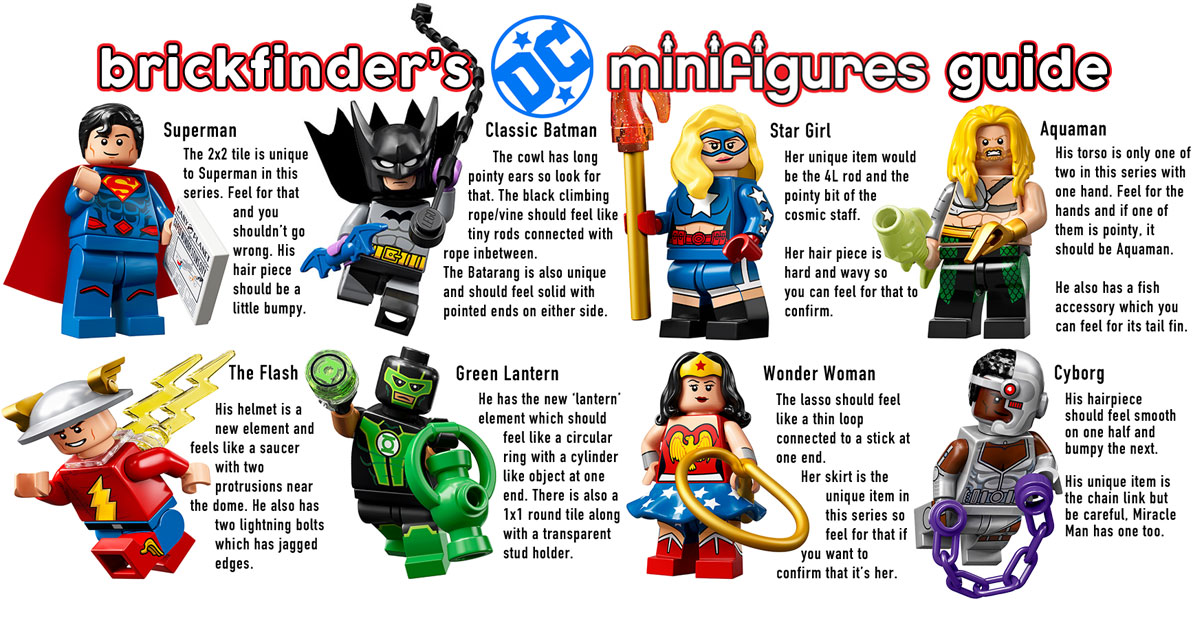 LEGO DC Super Heroes Series Figures Cyborg Minifigure From Set 71026