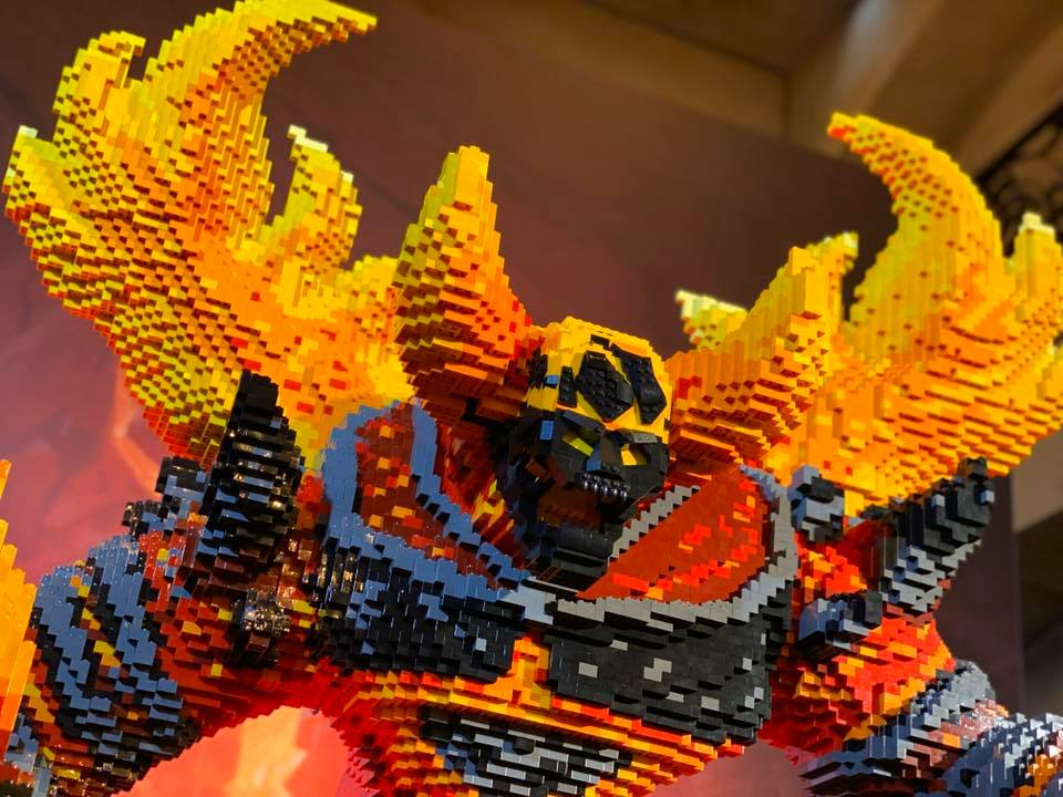 LEGO Ragnaros World of Warcraft - 02