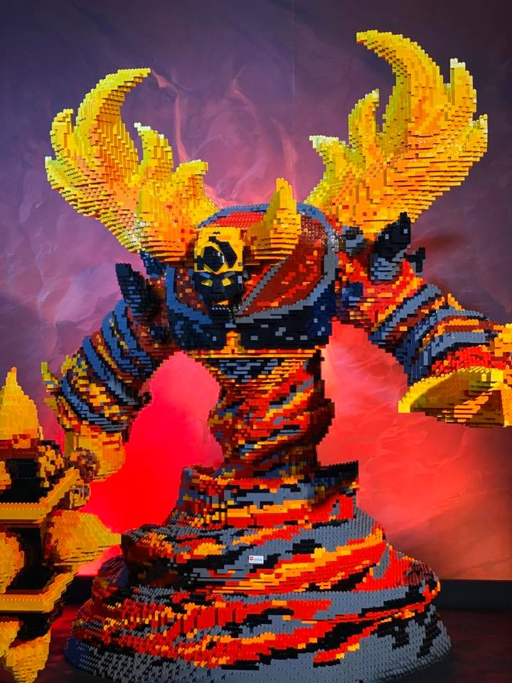 LEGO Ragnaros World of Warcraft - 04