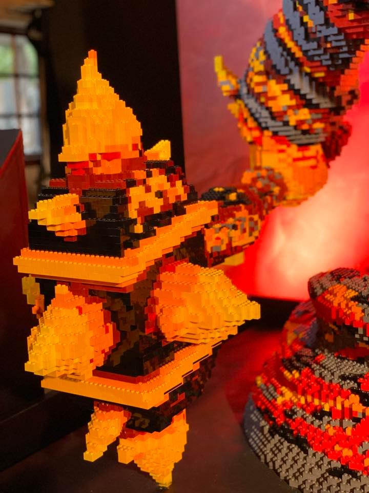 LEGO Ragnaros World of Warcraft - 09
