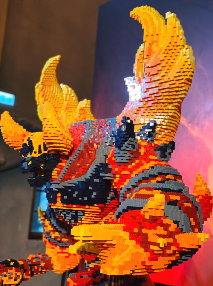 LEGO Ragnaros World of Warcraft - 10