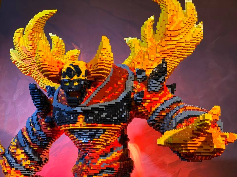LEGO Ragnaros World of Warcraft - 13