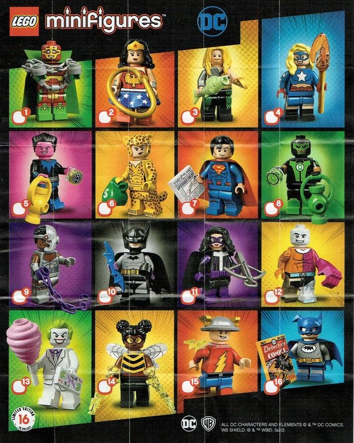 LEGO DC Super Heroes Series Figures Metamorpho Minifigure From Set 71026
