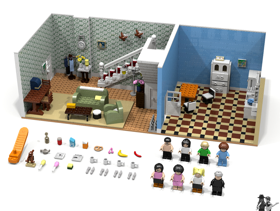 LEGO-Idea-Queen-I-Want-to-Break-Free