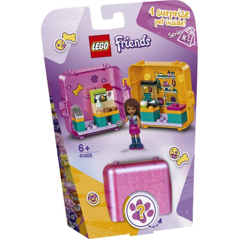 Lego Friends Dog Hairdresser Salon Mini Figure Polybag