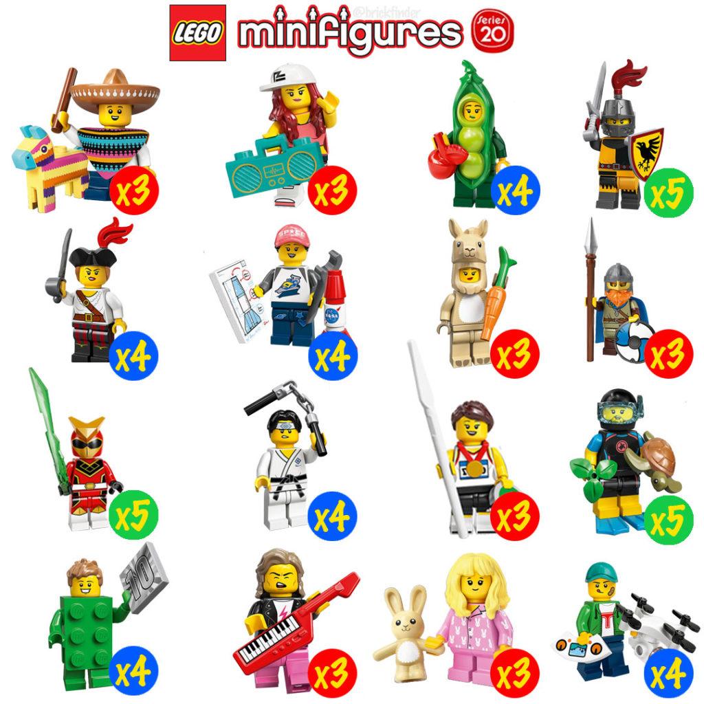 Lego 71027 Minifigures CMF Series 20 Minifiguren