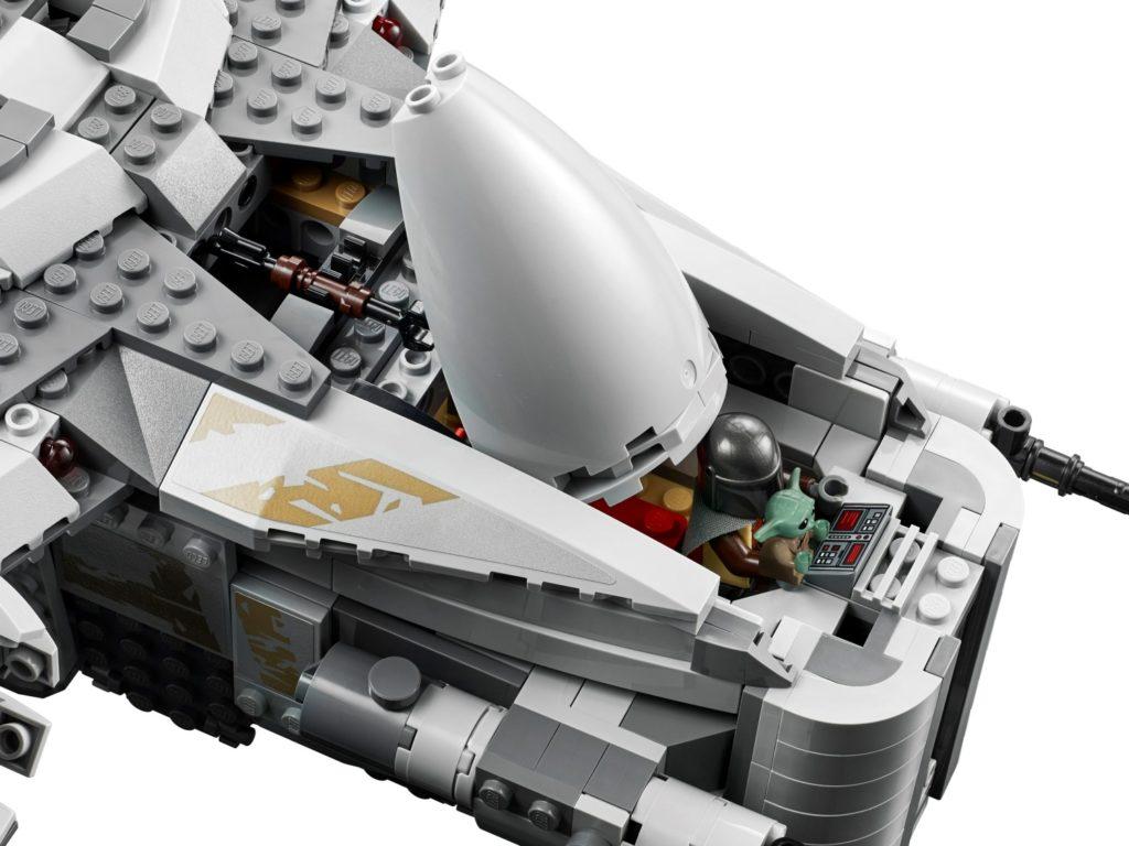 Brickfinder Lego Star Wars Razor Crest 75292 Complete Product Images