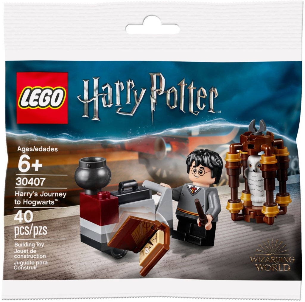 Lego Harry Potter and Hedwig Owl Delivery Building Kit 30420