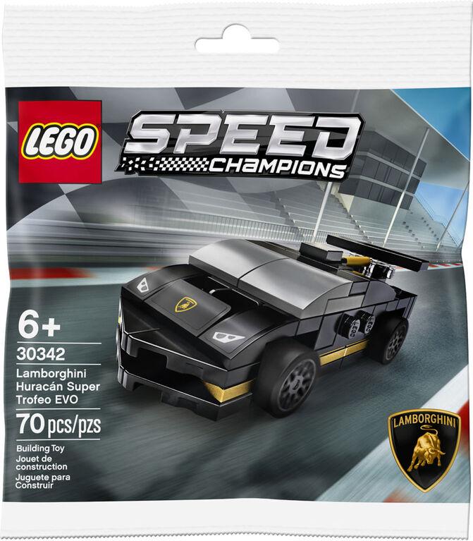 lego speed champions lamborghini huracan super trofeo EVO 30342
