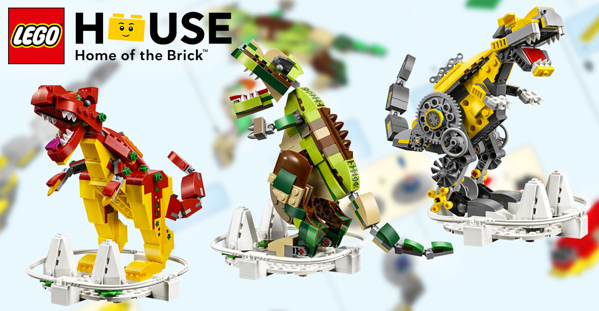 LEGO-House-Dinosaurs-40366-instructions-banner