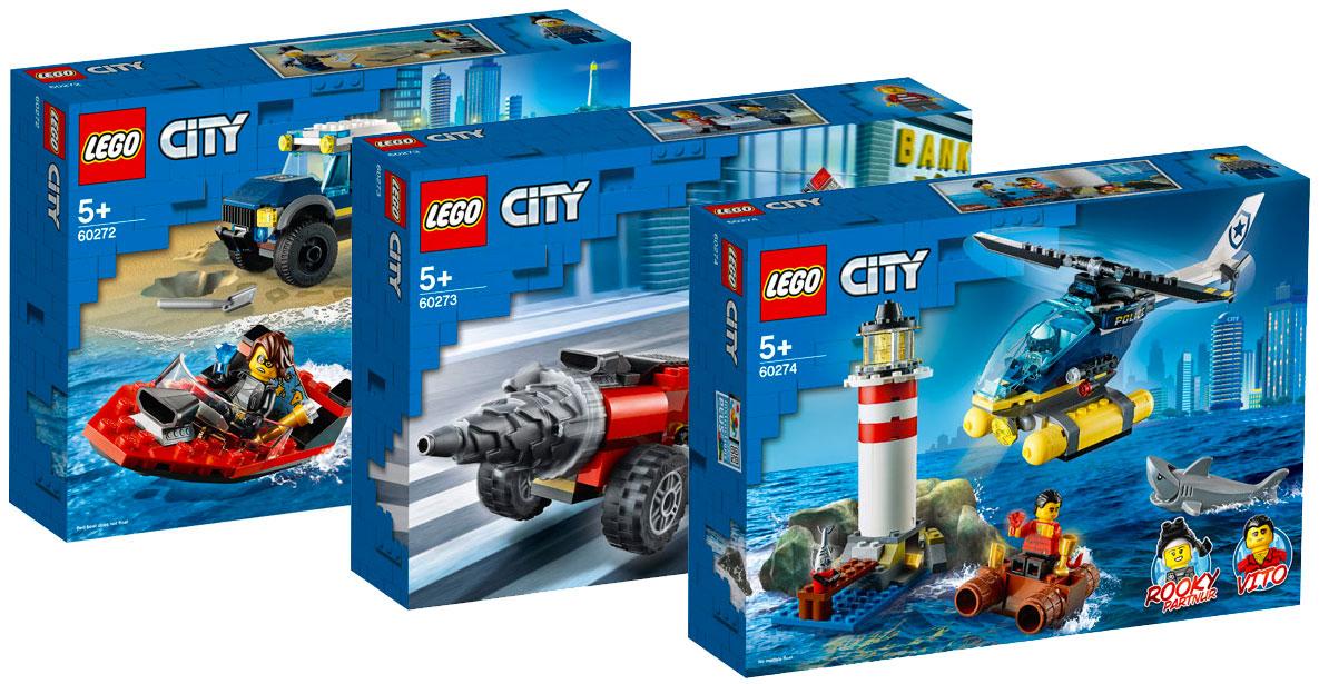Brickfinder Lego City Elite Police Summer 2020 Sets Official Images