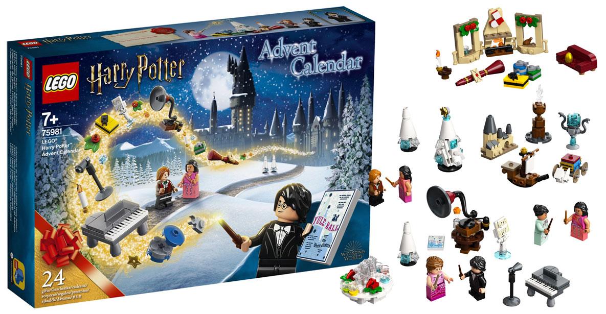 Harry Potter Advent Calendar Brickfinder   LEGO Harry Potter Advent Calendar (75918) First Look!