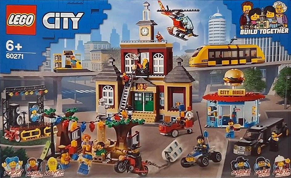 Brickfinder - LEGO City Main Square (60271) Found In The Wild!