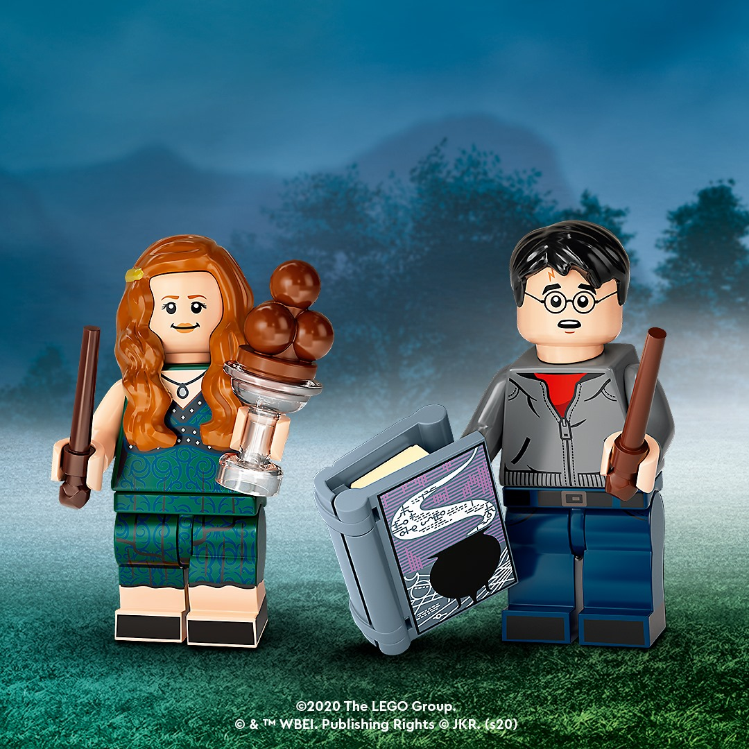 Lego Hermione Granger 71028 Harry Potter Collectible Series 2 Minifigure