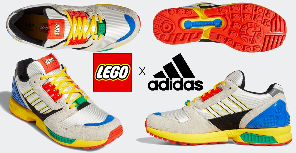 LEGO Adidas ZX-8000 sneakers
