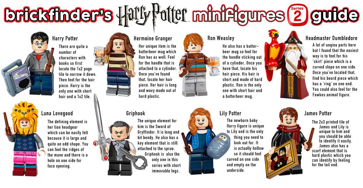 LEGO 71028 MINIFIGURES HARRY POTTER Serie 2 box intero