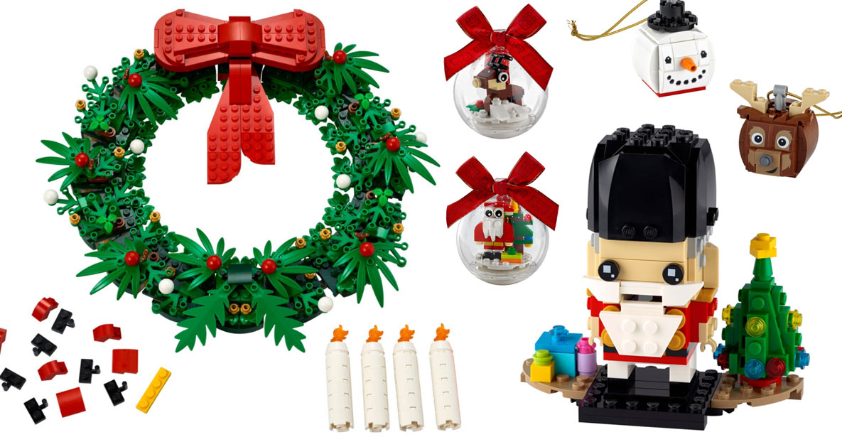 Christmas 2020 Lego Sets Brickfinder   LEGO Seasonal Holiday Sets 2020 Official Images!