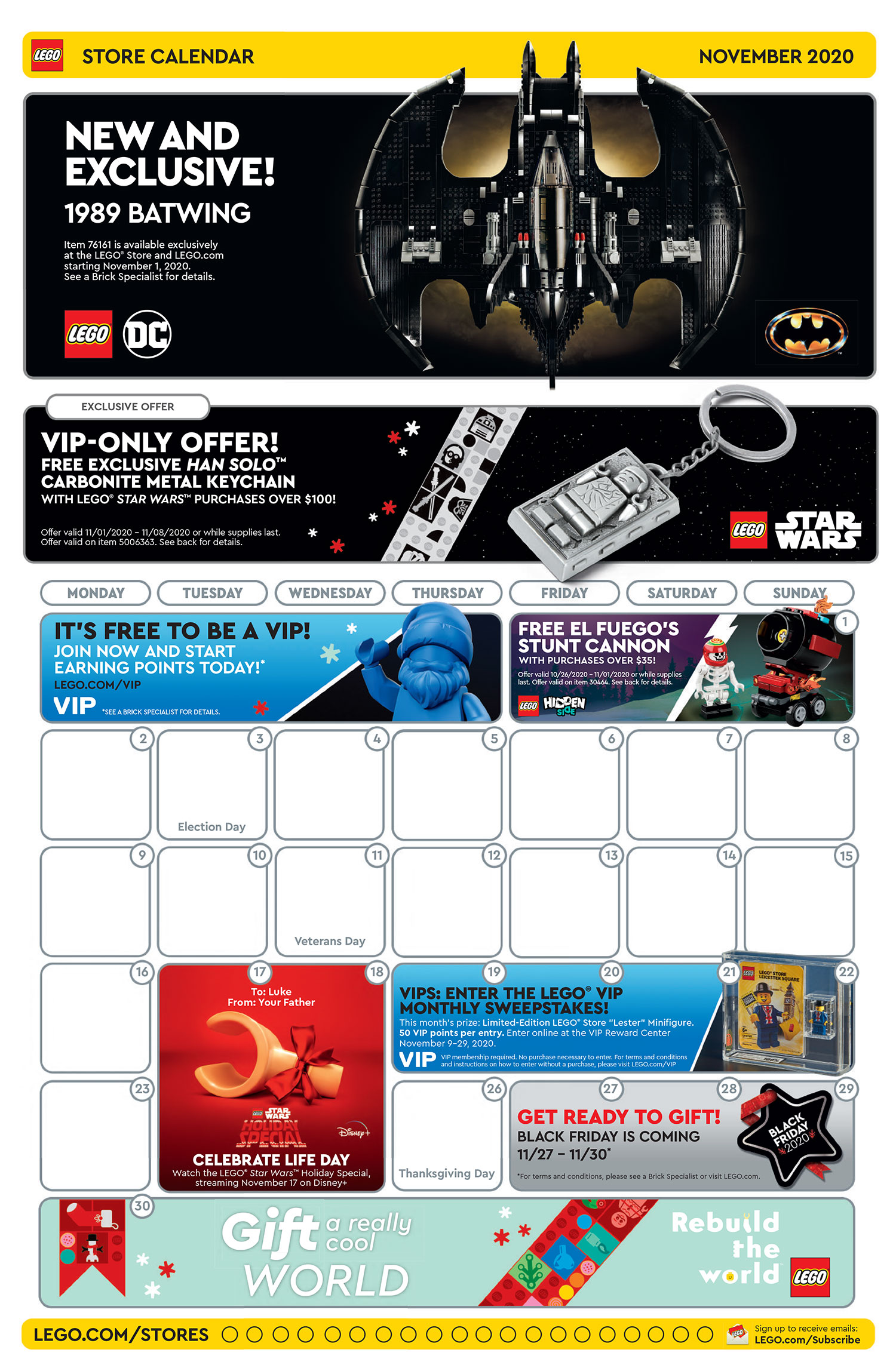 Brickfinder   LEGO Brand Store November 2020 Promotions!