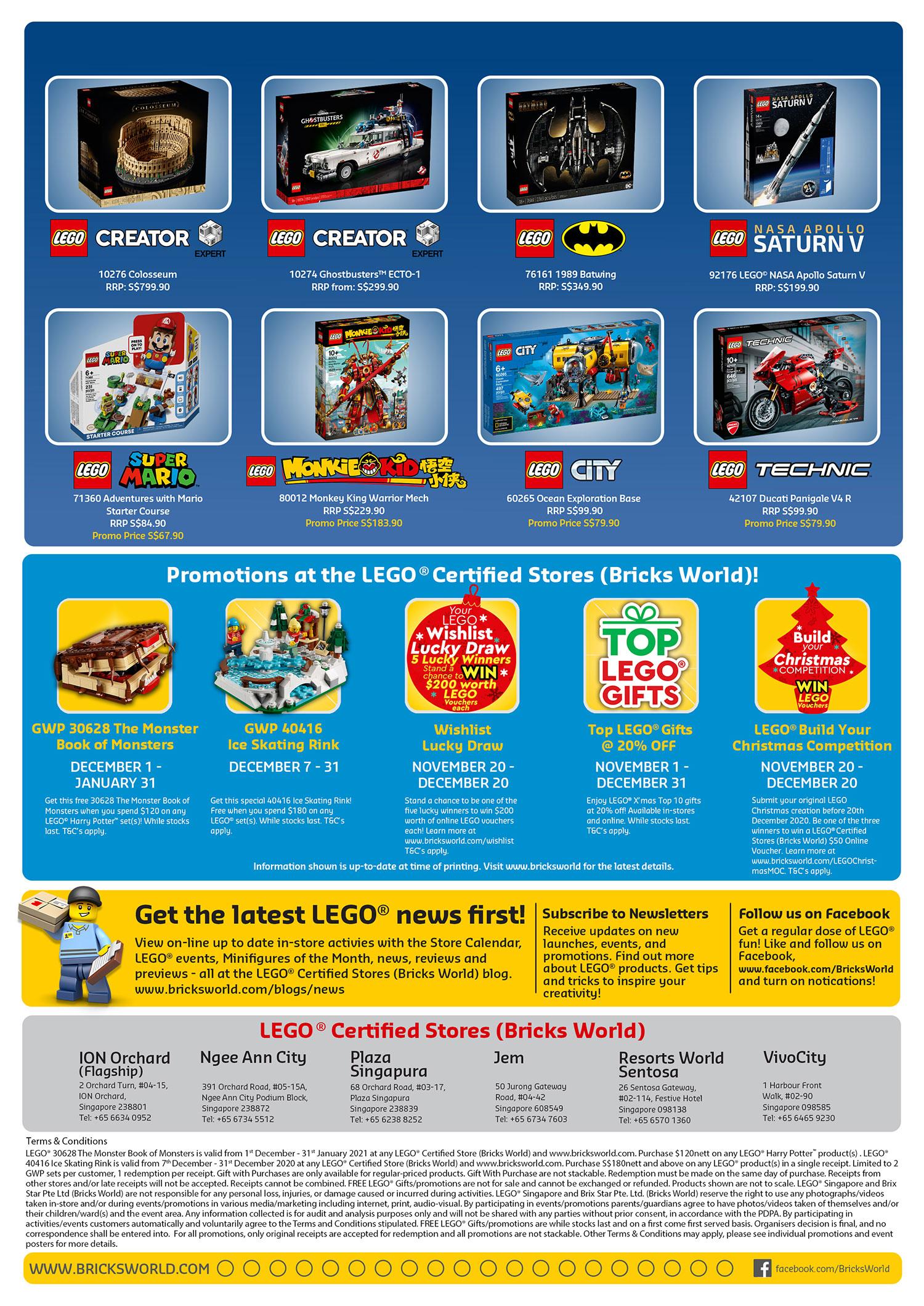 Brickfinder   Bricks World LEGO Certified Store Calendar December