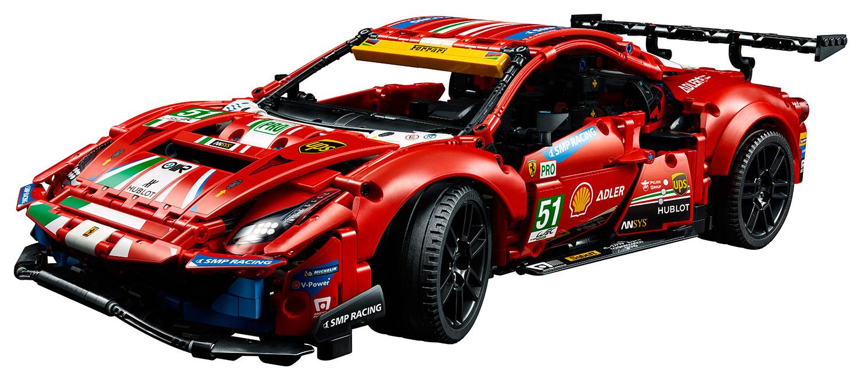 Brickfinder Lego Technic Ferrari 488 Gte 41425 Officially Announced
