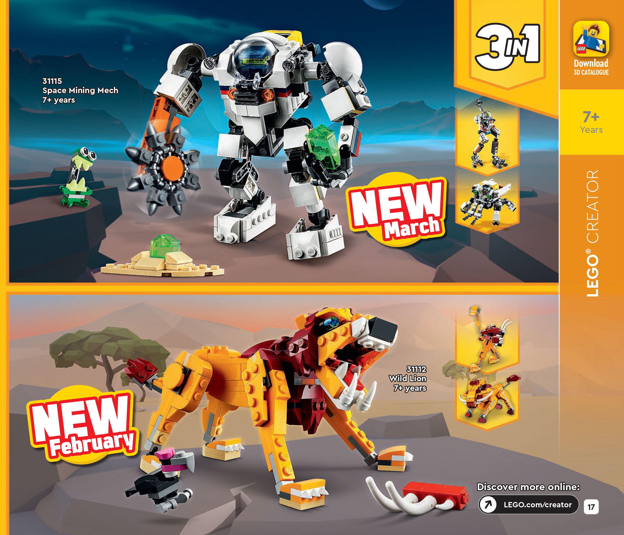 Brickfinder - The LEGO 1HY 2021 Catalog Reveals A Lot of ...