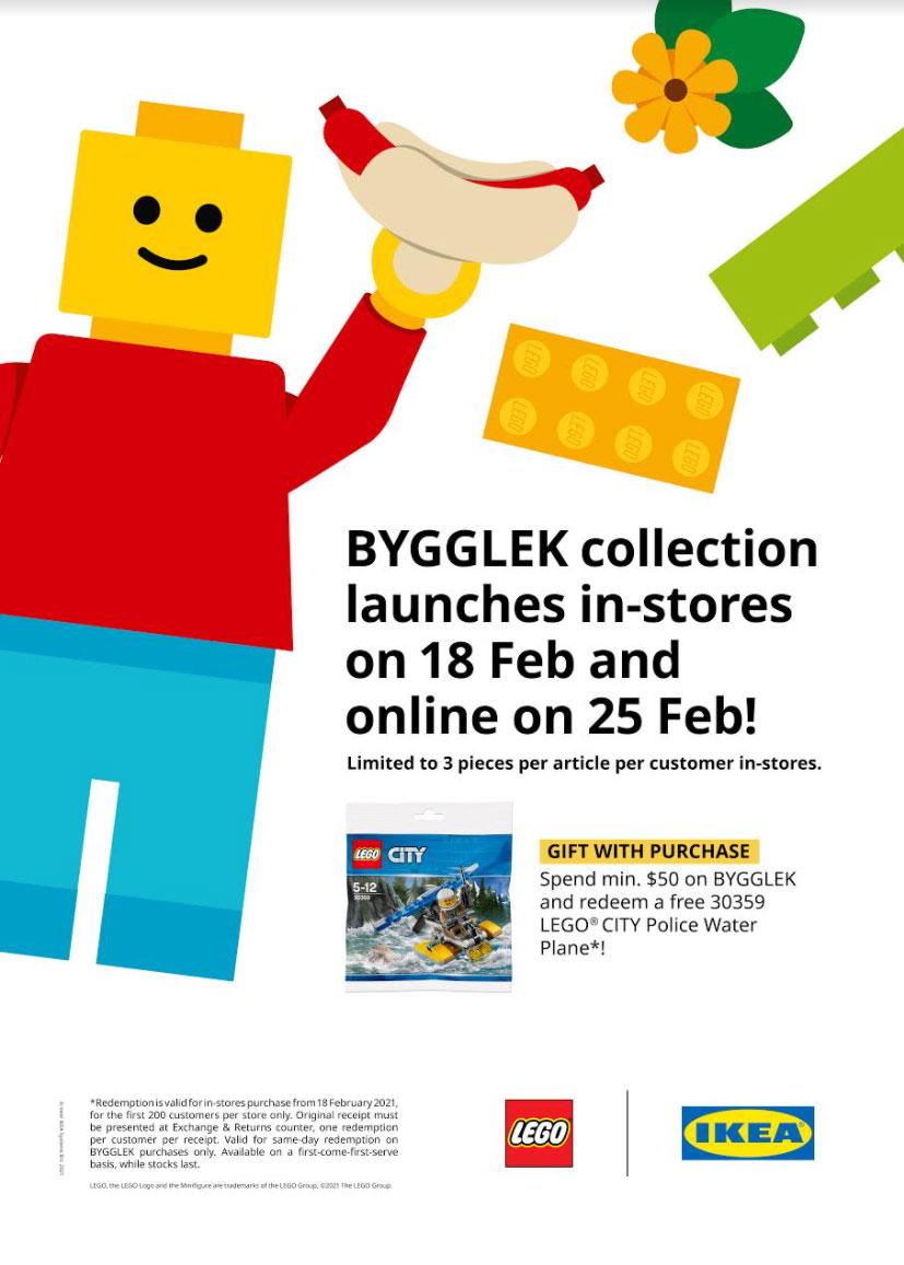 IKEA Singapore BYGGLEK launch